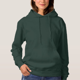 Kvinna DJUP SKOG för grundläggande Hooded tröja