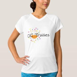 Kvinna dröm för orange för Sport-Tek inpassad T Shirts