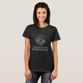 Kvinna för amerikanBuddha Co. blackout Tee Shirts