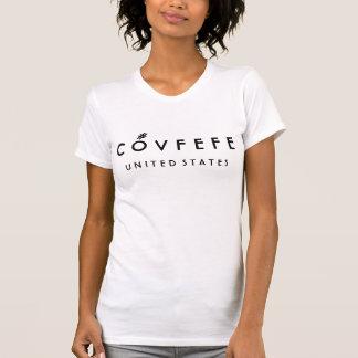 Kvinna för COVFEFE United States   rolig bomull T-shirts