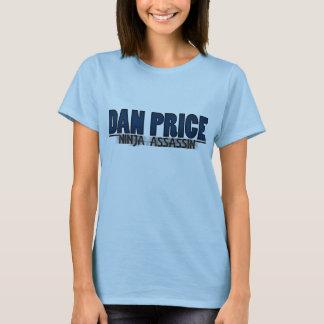 "Kvinna ""för Dan pris"" logotyp Tee. Tee Shirts"