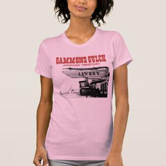 Kvinna för Gammonsbergsklyftasouvenir Racerback T-shirt