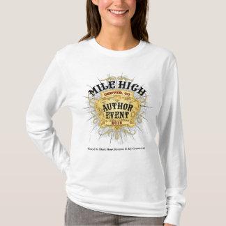 Kvinna för händelse för Milekickförfattare T-shirts