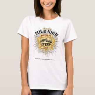Kvinna för händelse för Milekickförfattare T-tröja Tee Shirts
