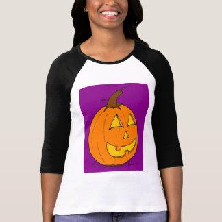 Kvinna för jackolykta purpurfärgad T-tröja för Tshirts