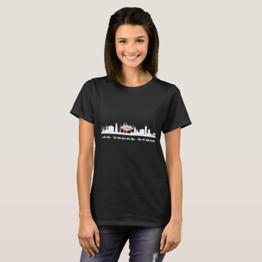 Kvinna för LAS VEGAS REMSAFÖDELSEDAG mörka T-tröja Tee Shirts