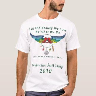 Kvinna för Mendocino Sufi läger 2010 T-tröja T-shirt