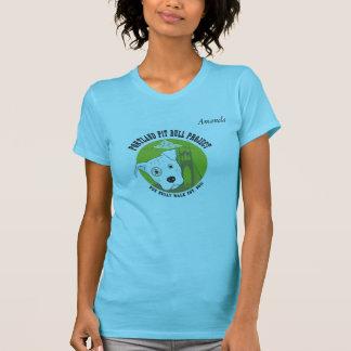 Kvinna för Portland groptjur T-tröja T Shirt