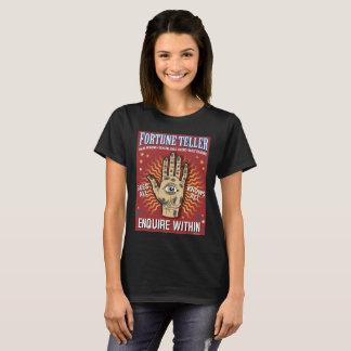 Kvinna för vintageSpiritualistannonsering skjorta Tshirts
