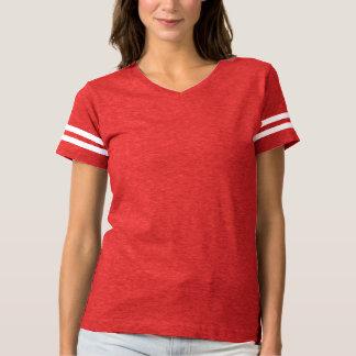Kvinna fotbollT-tröja är det alltid färger för lek T Shirts