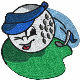Kvinna Golf broderade skjorta
