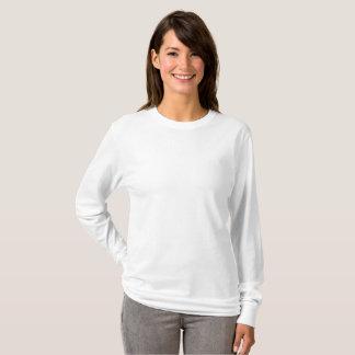 Kvinna grundläggande långärmadT-tröja Tröja