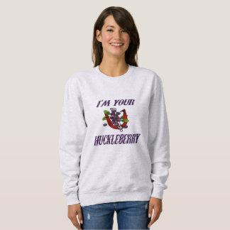 Kvinna grundläggande tröja för hästskor