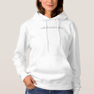 Kvinna gud måste älska dumt folk vit t shirt