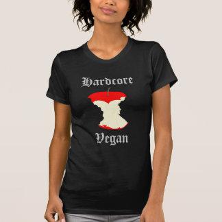 Kvinna Hardcore VeganApple skjorta T-shirts