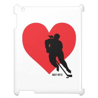 Kvinna hockey för flickor för hockey för iPad skal