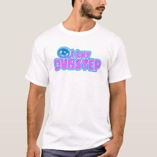 kvinna jag älskar DUBSTEP-utslagsplatsen T Shirts