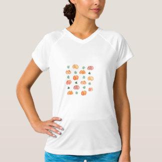 Kvinna kapacitetsT-tröja med pumpor Tröja