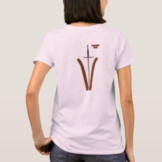 Kvinna kristna skjorta tee shirt