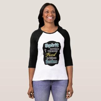 Kvinna kristna skjorta tshirts