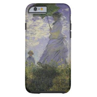 Kvinna med ett slags solskydd av Monet, Tough iPhone 6 Skal