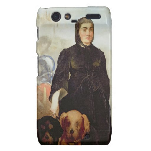 Kvinna med hundar, 1858 (olja på kanfas)