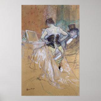 "Kvinna på henne toalett, studie för ""Elles"", c.189 Poster"