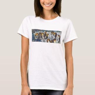 Kvinna pingvinT-tröja T-shirts