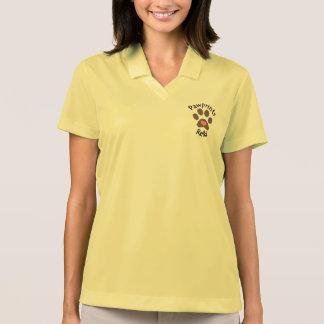 Kvinna polo med den tassavtryckReiki logotypen Tenniströja