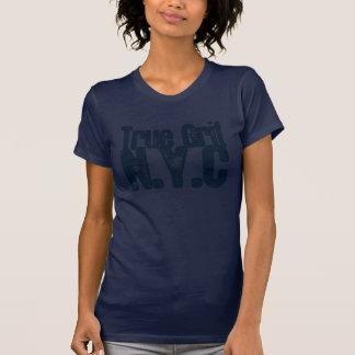 Kvinna Racerback T-tröja Tee