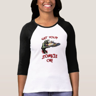 Kvinna Raglanskjorta T-shirts