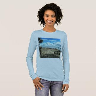 Kvinna shirt. för långärmad t för Bella kanfas T Shirts