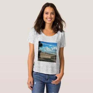 Kvinna Shirt. för pojkvän T för Bella kanfas T-shirt
