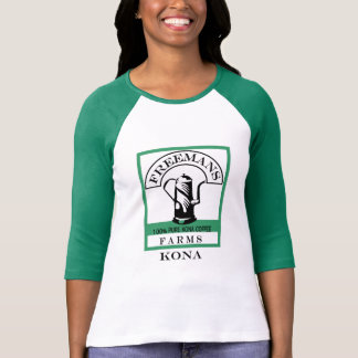 Kvinna skjorta för Kona utslagsplats T Shirts