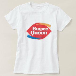 """Kvinna skjorta för kondition för Burpee drottning"""" T-shirts"""