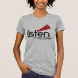 Kvinna skjorta för ljunggrå färg LTYM [LILLA Tee