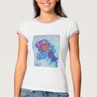 Kvinna skjorta för Ringerutslagsplats - gitarr Tee Shirt