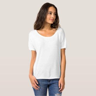 Kvinna Slouchy pojkvänT-tröja T-shirt