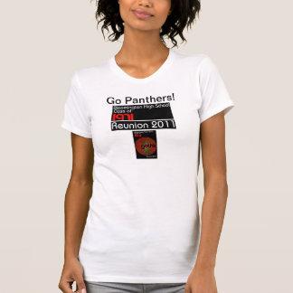 Kvinna t-skjorta 2011 för BHS-möte Tee