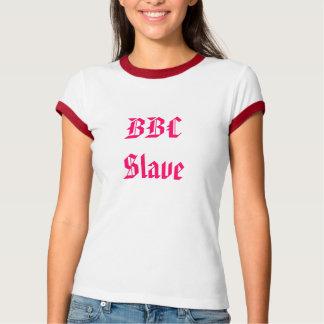kvinna t-skjorta för hanrej för bbc slav- tröja