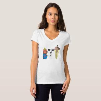 Kvinna T-tröja | BURLINGTON, VT (BTV) Tröjor