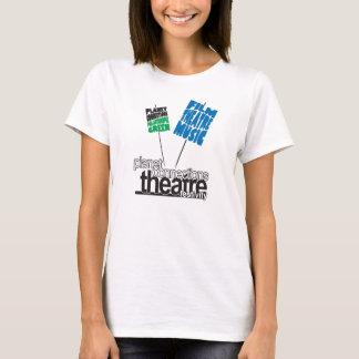 Kvinna T-tröja för Festivitylogotyp Tshirts