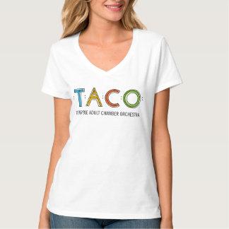 Kvinna T-tröja för Hanes Nano V-Nacke TACO T Shirts