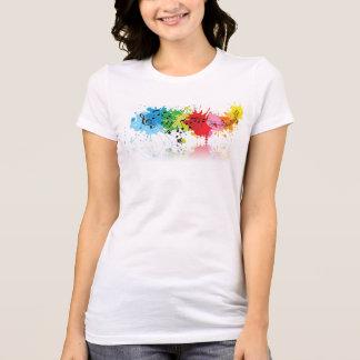 Kvinna T-tröja för musikal för Bella kanfas Tee Shirt