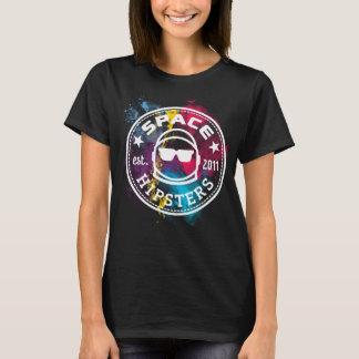 Kvinna T-tröja för Nebula för utrymmeHipsters T Shirts