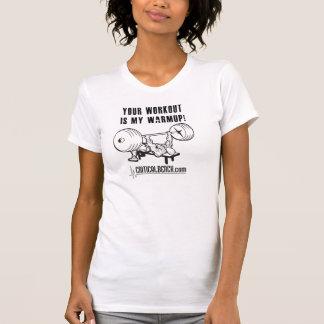 Kvinna T-tröja för Racerback CB Tröja