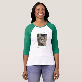 Kvinna T-tröja för Raglan för sleeve för Bella T-shirts