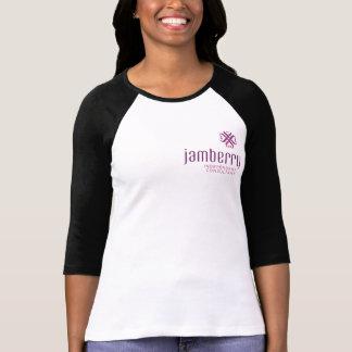 Kvinna T-tröja för Raglan för sleeve för Bella Tee