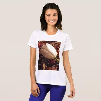 Kvinna T-tröja för Sport-Tekkonkurrent Tee Shirts