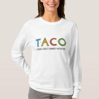 Kvinna T-tröja för TACO för Hanes Nano långärmad, T Shirts